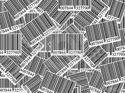 Bar codes background