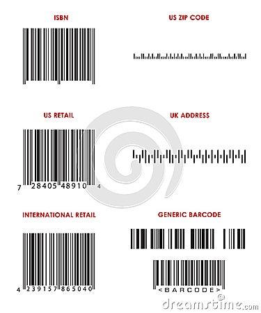 Bar Codes (Various)