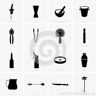 Free Bar Equipment Royalty Free Stock Photography - 116737027