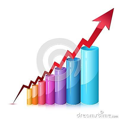 Free Bar Graph Stock Image - 18288141
