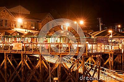 Bar Harbor waterfront Editorial Photography