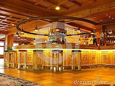 Bar indoor