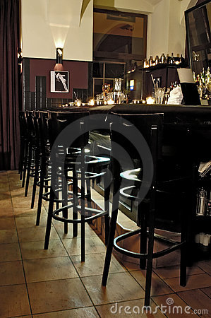 Free Bar Interior Royalty Free Stock Photo - 1915275