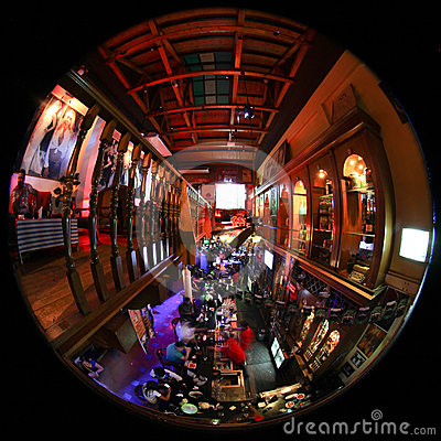 Bar in Malaysia Editorial Stock Photo