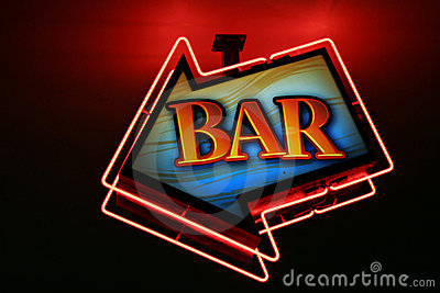 Bar neon lights