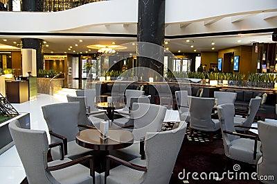 Bar restaurant hotel lobby