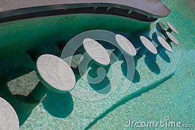 Bar in water
