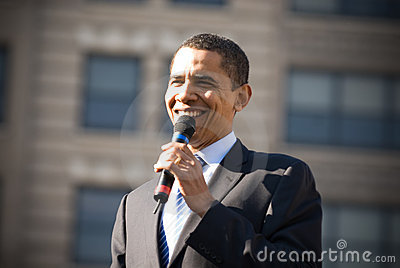 Barack Obama 18 Editorial Stock Image