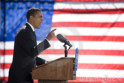Barack Obama Editorial Stock Image
