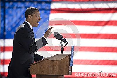 Barack Obama Editorial Stock Image