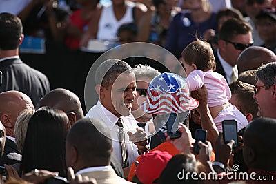 Barack Obama Editorial Photo