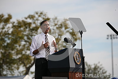 Barack Obama Editorial Stock Photo