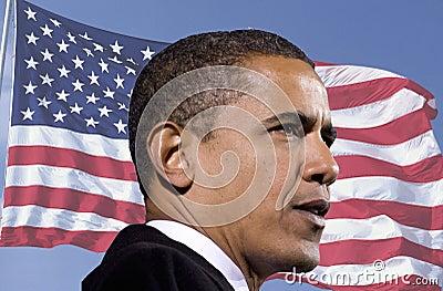 Barack Obama Redactionele Fotografie