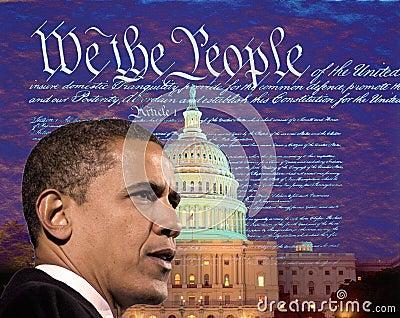 Barack Obama Redaktionelles Foto