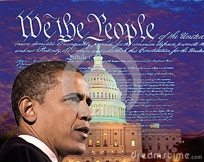 Barack Obama Redactionele Foto
