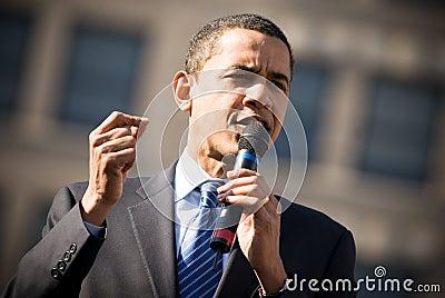 Barack Obama 3 Editorial Stock Photo