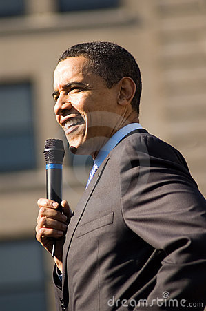 Barack Obama 6 Editorial Stock Image