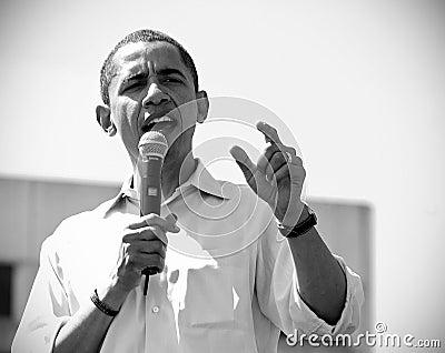 Barack Obama Editorial Stock Photo