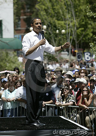 Barak Obama Editorial Stock Image