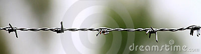 Barb Wire Closeup Stock Photos - Image: 18427583