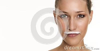 Barba leitosa