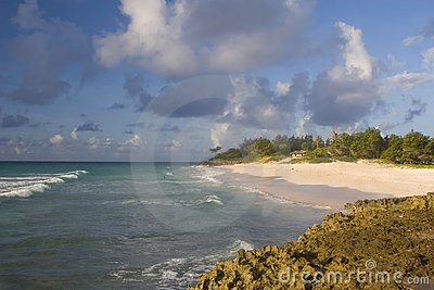 Barbados-Küstenlinie