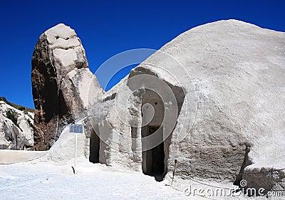 Barbara church in Goreme (Cappadocia)