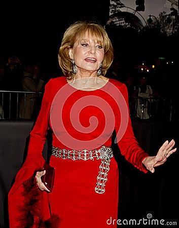 Barbara Walters Editorial Stock Photo