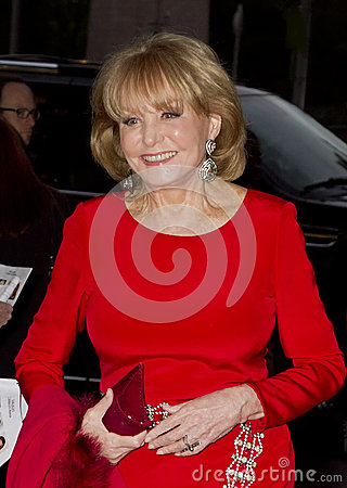 Barbara Walters Editorial Photo