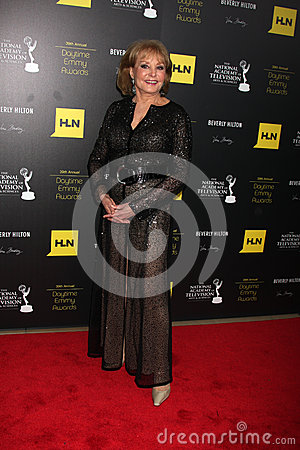 Barbara Walters in the Press Room of the 2012 Daytime Emmy Awards Editorial Photo