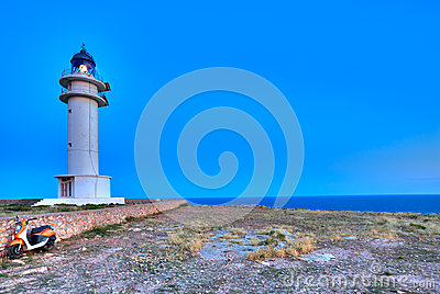 Barbaria Berberia Cape Lighthouse Formentera
