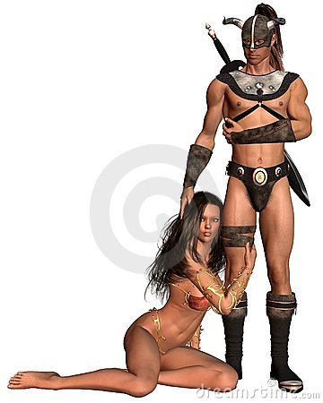 Barbarian Fantasy Couple