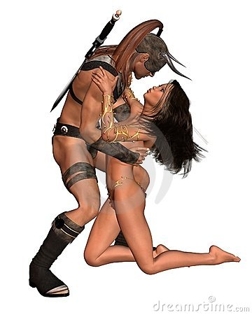 Barbarian Fantasy Couple