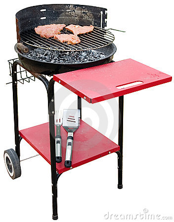 Barbecue appliance isolated