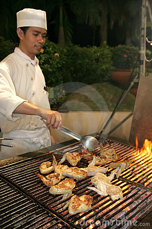 Barbecue dinner