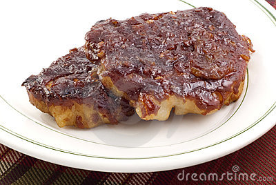 Barbecue Pork Loin Chops