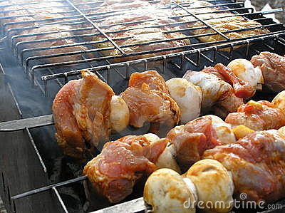 Barbecue and shashlik