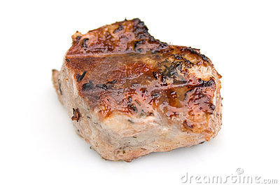 Barbecued Piece of Meat