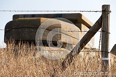 Barbed bunker