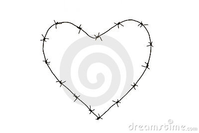 Barbed heart