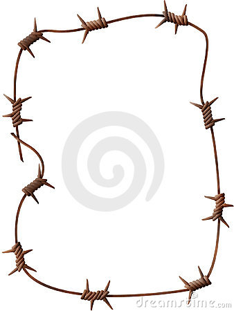 Free Barbed Wire Royalty Free Stock Images - 2365279