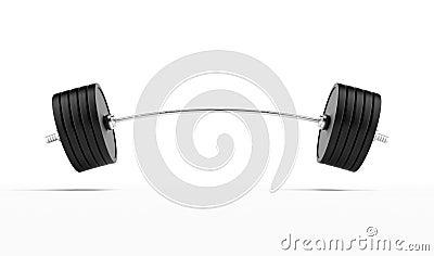 Barbell lourd
