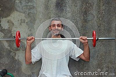 Barbell training