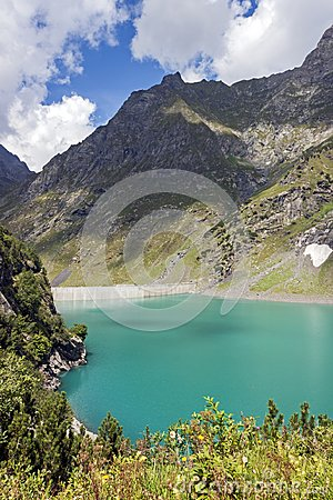Free Barbellino Dam And Artificial Lake, Alps Orobie, Bergamo, Royalty Free Stock Photo - 124928465