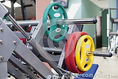 Barbells - gym equipment