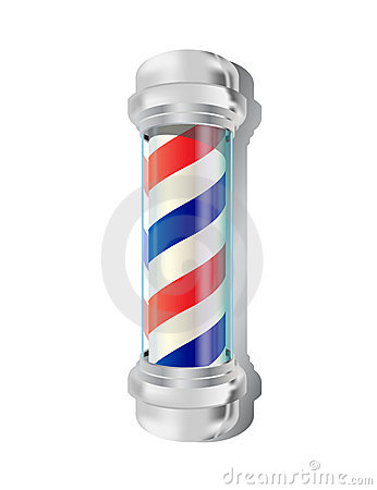 Free Barber Pole Stock Images - 7086854