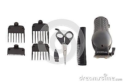 Barber s tool set.