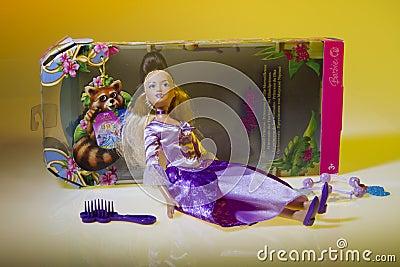 Barbie doll the island princess Editorial Photo
