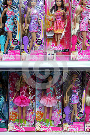 Barbie Editorial Stock Photo