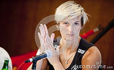 Barbora Spotakova Editorial Photo